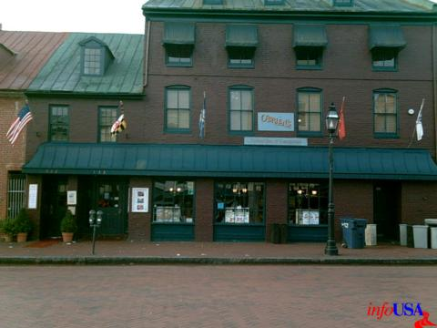Another In The Series Of Good Restaurants Downtown Annapolis Is O Brien S Oyster Bar At 113 Main Street Building Dates Back To American